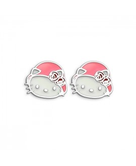 Pendientes de Hello Kitty...