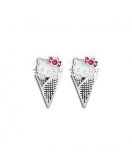 Pendientes Hello kitty love...
