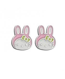 Pendientes Hello Kitty conejo