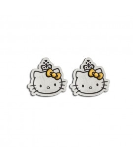 Pendientes Hello kitty chic...