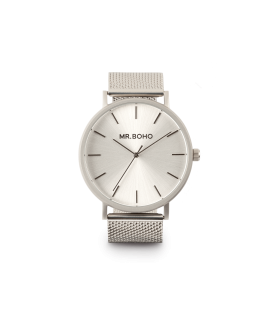 Reloj Mr Boho  monochrome metallic