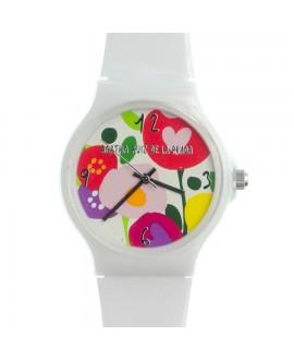 Reloj de AGR en color blanco