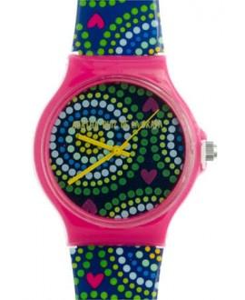 Reloj AGR de puntos de colores