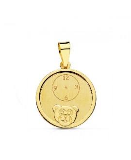 Medalla oro oso reloj 14mm