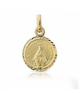 Medalla virgen Guadalupe oro