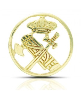 Insignia Guardia Civil pin oro