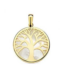 Colgante oro árbol de la...