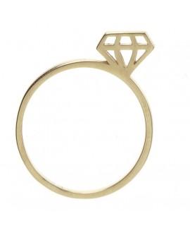 Anillo mua mua diamond...