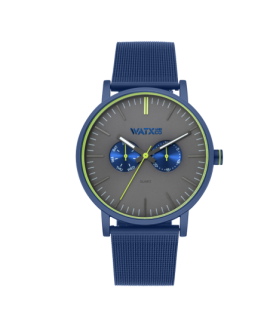 Reloj WaxandCo 44mm psicotropic blue/grey