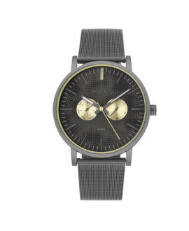 Reloj WatxandCo. analojico PIXEL grey 44mm