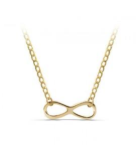 Collar oro infinito con cadena