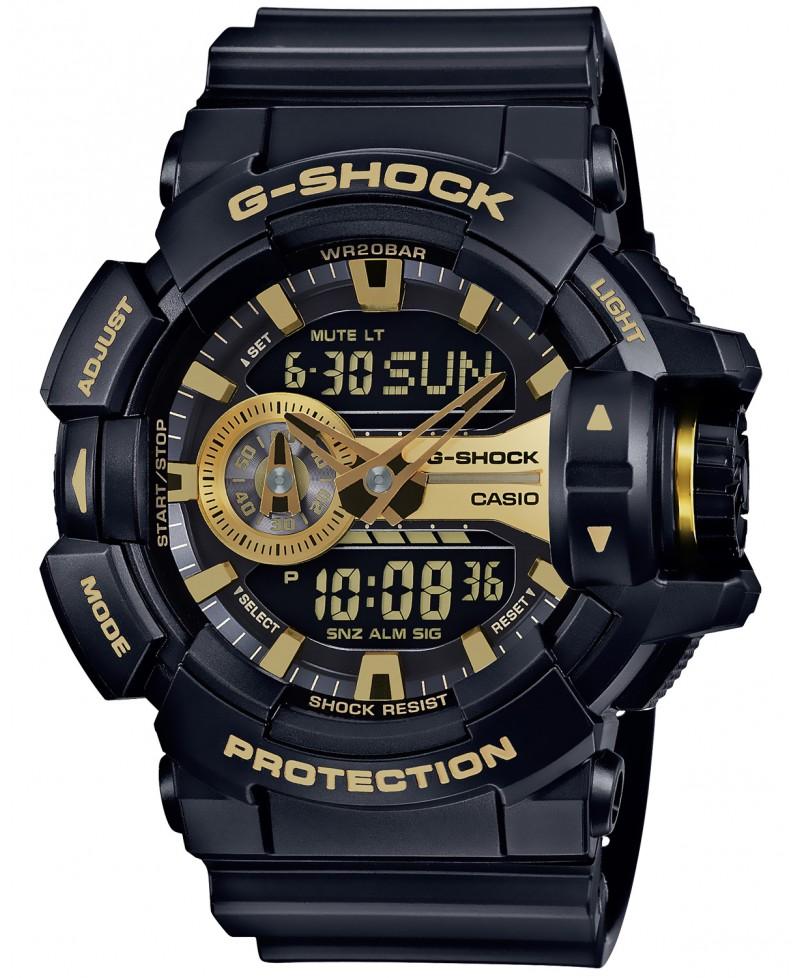 ab46fdb4e31c CaSIO G-SHOCK dorado  negro