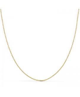 Cadena de oro amarillo 40cm...