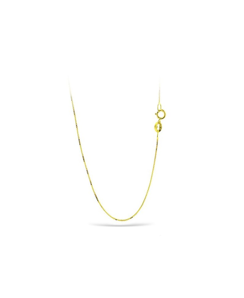 649498e8ad08 Cadena de oro amarillo veneciana 42 cm