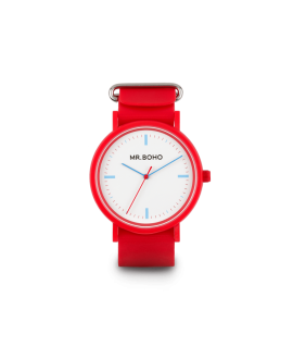 Reloj MR.BOHO sporty rojo