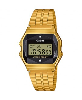 CASIO Vintage diamond dorado