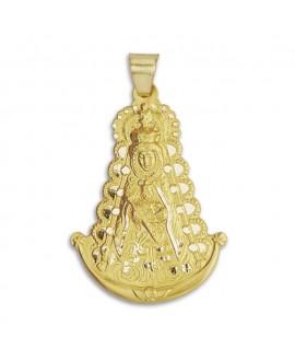 Medalla Virgen del Rocío 19x12 mm