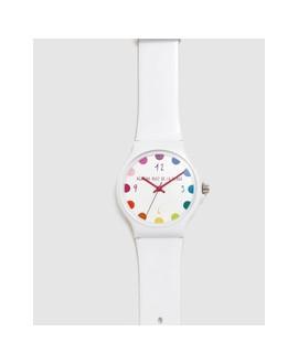 Reloj de mujer Ágatha Ruiz de la Prada Blanco