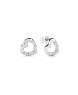 Pendientes de guess HEARTED...