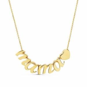 Collar MAMA Corazón de oro