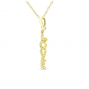 Gargantilla collar LOVE oro