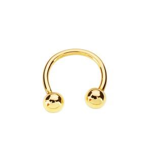 Piercing de oro, aro para...