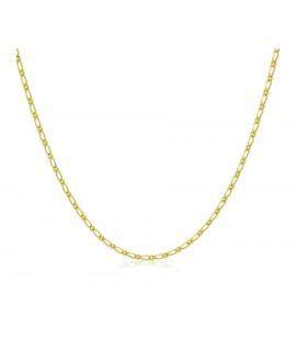 Cadena de oro amarillo 1x1 L50