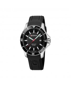 Reloj de Hombre Wenger Seaforce Negro/Negro Joyería Gimeno