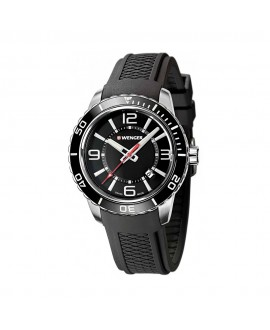 Reloj de Hombre Wenger Roadster Negro/Negro
