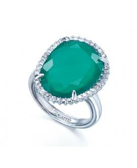 Anillo mujer diamantes -...