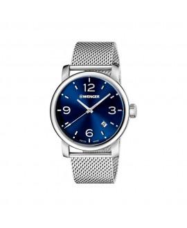 Reloj de Hombre Wenger Urban Metropolitan Azul Sunray/plata