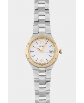 Reloj mujer SEICO CLASIC esfera blanca-acero