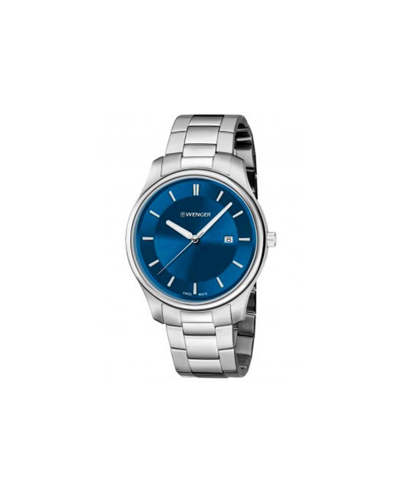 Reloj de Hombre Wenger City Classic Azul/Plata Joyería Gimeno
