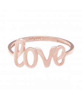 Anillo MUA MUA love rose