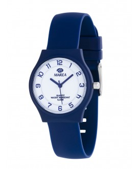 Reloj unisex azul slim...